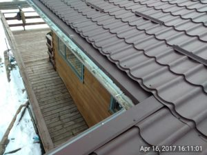 Roofs with beautiful brown tiles 3