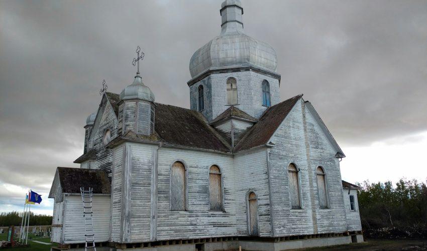 Bad roof of old Ukrainian Catholic Church 4