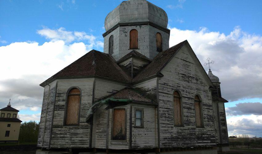 Bad roof of old Ukrainian Catholic Church 5
