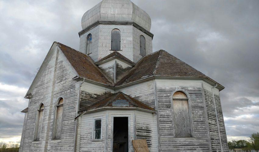 Bad roof of old Ukrainian Catholic Church 7