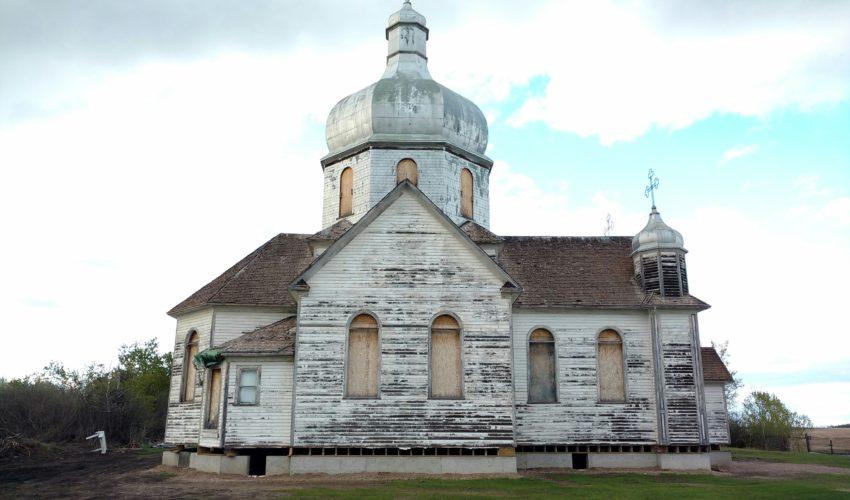 Bad roof of old Ukrainian Catholic Church 8