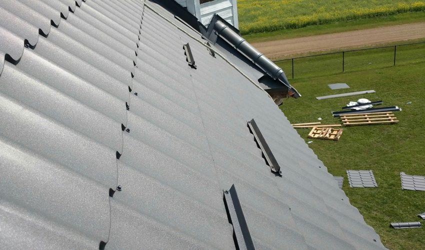 Roof repair/ step 9