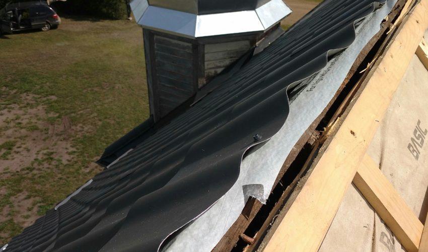 Roof repair/ step 7
