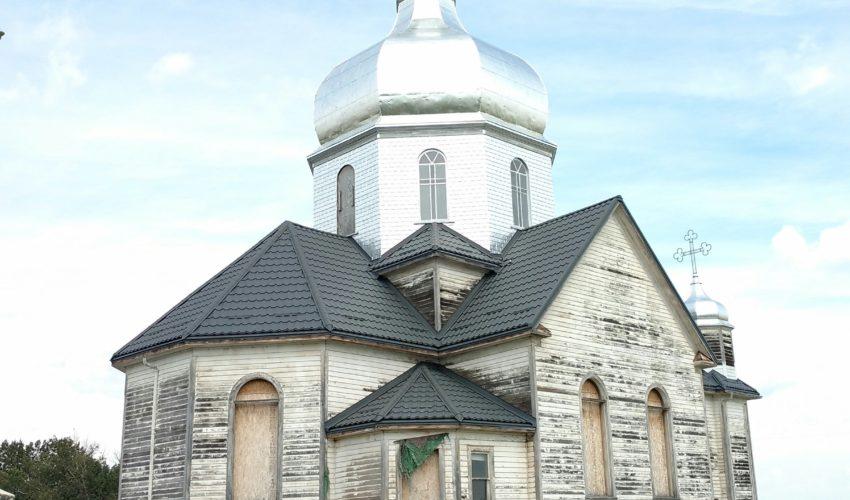 New roof of Ukrainian Catholic Church of Spasa 5