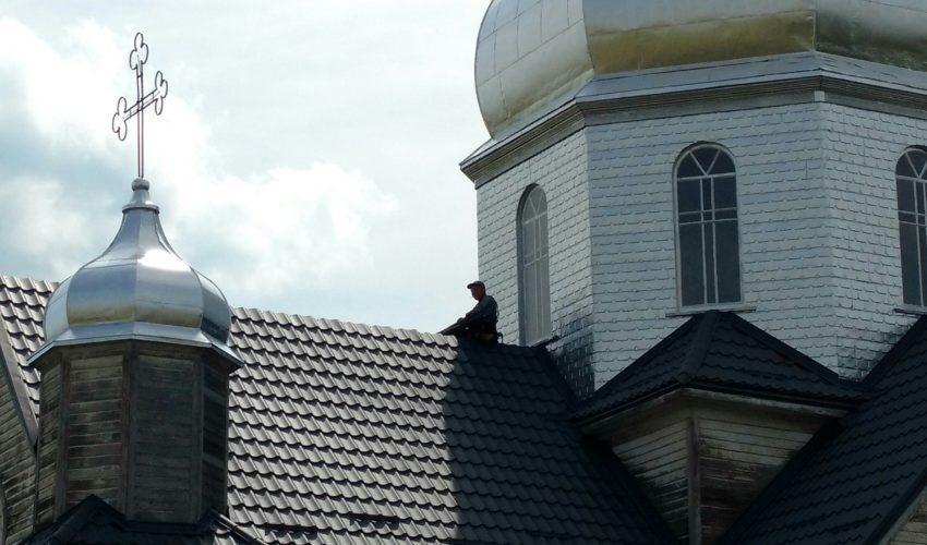 Roof repair/ step 5