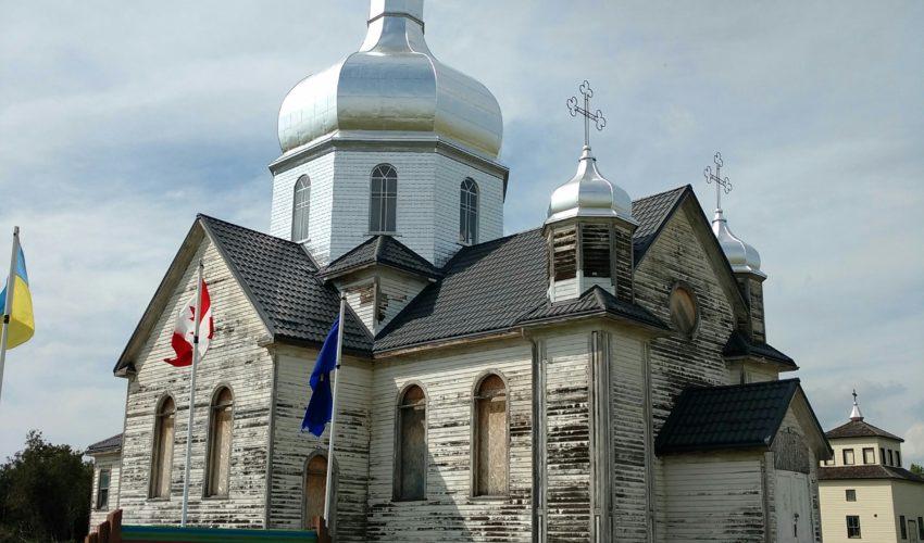 New roof of Ukrainian Catholic Church of Spasa 2